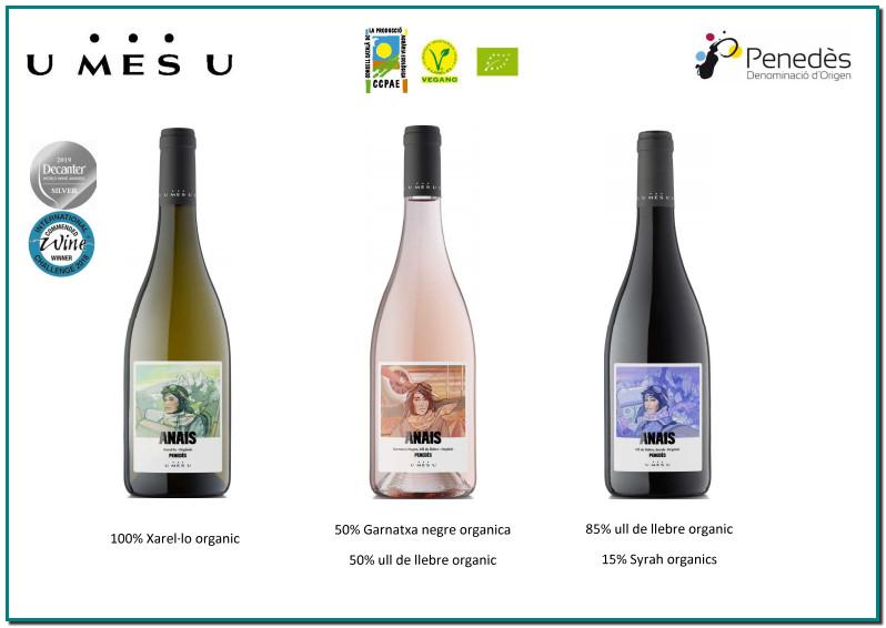 U MES U L'any 2000, Josep Antoni Bonell i Josep Piñol van unir les seves forces per crear 1+1=3, actualment denominat U MES U. Avui, l'objectiu del celler segueix sent el de sumar visions, il·lusions i esforços per a elaborar una variada selecció de caves i vins ecològics que reflecteix el caràcter únic de les vinyes de l'Alt Penedès. La cura meticulosa de tots els processos de la viticultura i la vinificació, així com l'experiència i desig de la millora contínua a través del treball en equip, permet a U MES U elaborar vins únics, plens d'elegància i personalitat i premiats en els concursos internacionals més prestigiosos. L'ART DE LA SUMA Sumem visions i esforços. Sumem il·lusions i emoció. Sumem també alegries, triomfs i celebracions. No és una suma, són moltes: l'argila i la pedra calcària; el cep i l'abella, la vinya i el celler; el viticultor i l'elaborador; el medi ambient i tu. Sumem cada pas i cada objectiu. Cada petit detall, quehem après a cuidar amb visió, rigor i responsabilitat peraconseguir, a la fi, uns vins amb un esperit singular. L'art de la suma.